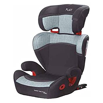 Play Safe Two Fix Plus, Silla de coche grupo 2/3 Isofix, gris