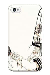 New Style 5346510K406615752 birds uniforms cage bandages Anime Pop Culture Hard Plastic iPhone 4/4s cases