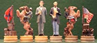 Civil War Themed Chess Pieces