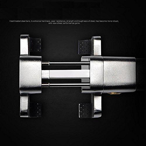 50%OFF MIAO Serrure de volant de voiture - serrures de voiture d'alarme anti-effraction, serrure de tête de voitures en alliage d'acier de sécurité formée par