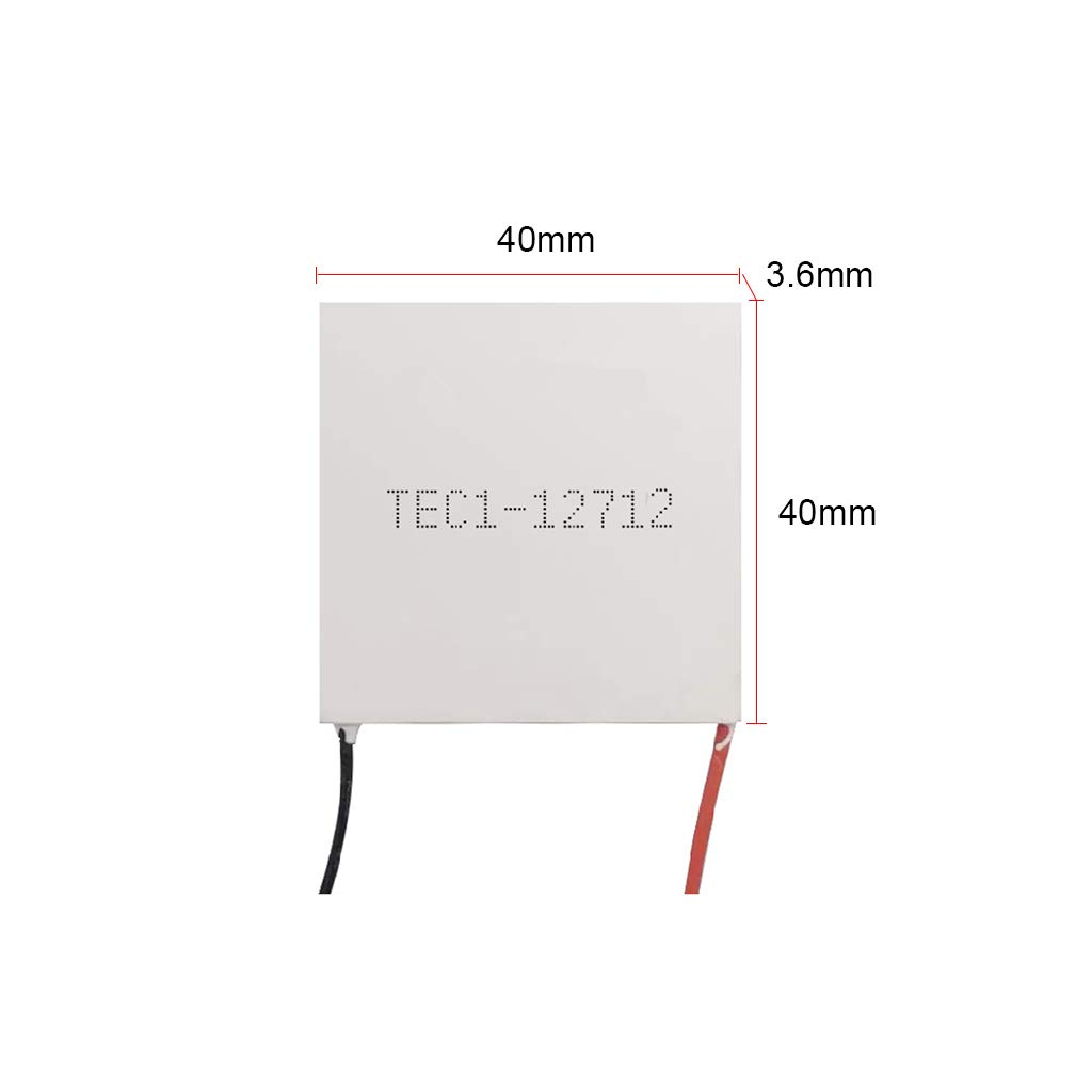 Yintiod Multi-Type Semiconductor Refrigeration Sheet TEC1-12706 Water Dispenser Cooling Film for Car Refrigerators