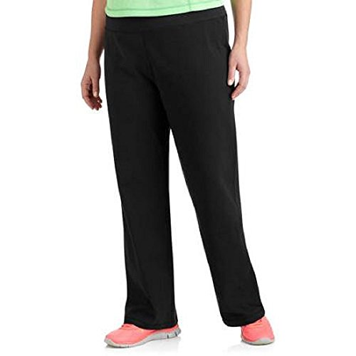 Danskin Now Plus Size Womens Dri More Bootcut Pants - Yoga, Fitness, Activewear (3X, Black) (Danskin Plus Size Yoga Pants compare prices)
