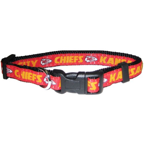 (Pets First NFL Kansas City Chiefs Collar, Medium)
