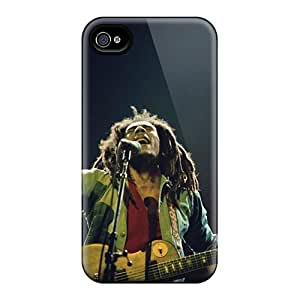 Snap On Hard Cases Covers, Bob Marley, Protector For Iphone 4/4s