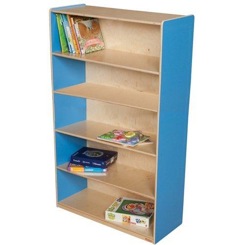 Wood Designs WD12960B Bookshelf, 60 x 36 x 15'' (H x W x D), Blueberry Color
