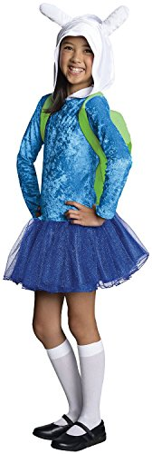 Rubie's Costume Adventure Time Fionna Child Costume, (Adventure Time Girl Halloween Costume)