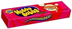 Hubba Bubba - 5 paquetes de chicle 20 unidades sabor fresa