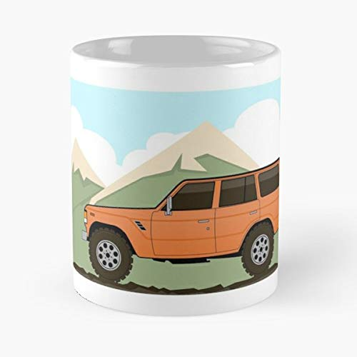 Fj60 Fj62 Toyota Land Cruiser The Best Gift For Holidays Coffee Mugs