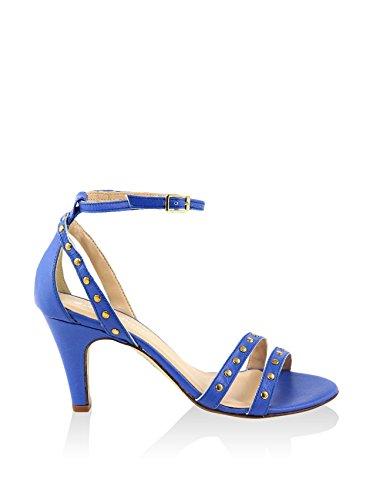 Giorgio Picino Sandalias de tacón Azul Royal EU 41