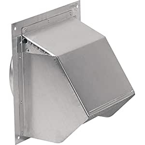 broan-nutone 647 wall cap aluminum 7 round duct