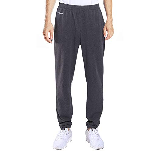 Track Cotton - Ogeenier Men's Sweatpants Cotton Joggers Jogging Running Pants with Zipper Pockets for Gym Workout Training