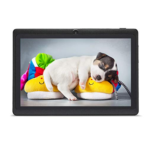 HAEHNE Tablet PC 7 inch Android tablet met HD-displays, Google Android 9.0 systeem, twee camera's, Quad Core 1GB RAM…
