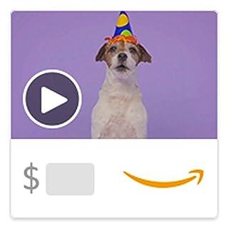 Amazon eGift Card - Woofy Birthday (Animated) [American Greetings] (B00BWDH368) | Amazon Products
