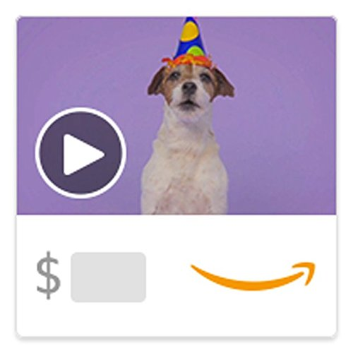 Amazon eGift Card - Woofy Birthday (Animated) [American - Email Gift Card Birthday