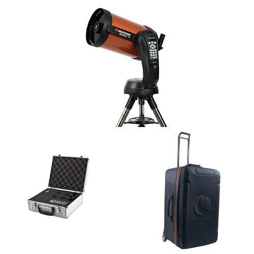 Celestron NexStar 8 SE Telescope with Accessory Kit and Case for Nexstar 8/9.25/11-Inch Optical Tube (94004)