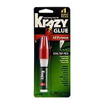 Krazy Glue All Purpose Super Glue Pen, Punta fina, 3 gramos
