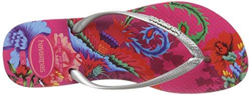 Donna 2655 Infradito Tropical Multicolore Slim Havaianas Rosa fwCvxOWq