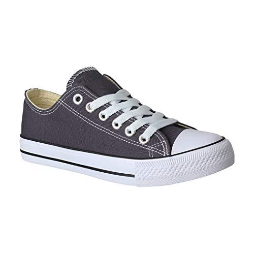 grey Dk New Donna Sneaker Elara PI0YBB