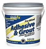 Custom BLDG Products TAGAQT Quart Premixed Adhesive/Grout
