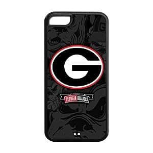 Customize Georgia Bulldogs Back Case for iphone 5C JN5C-1235