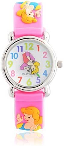 Brinley Co. Girls Princess Design Silicone Watch