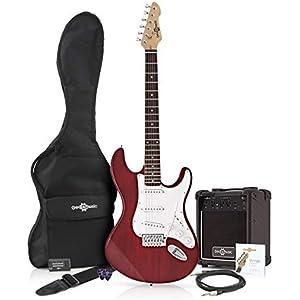 LA Electric Guitar + Amp Pack Red