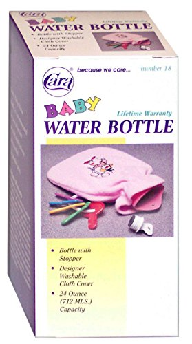 Price comparison product image CARA Baby Hot Cold Water Bottle with Cloth Cover