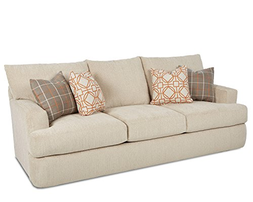 Klaussner Oliver Sofa, Tan - Klaussner Home Furniture