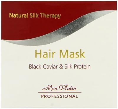 Mon Platin Hair Mask Black Caviar & Silk Protein 17oz/500ml