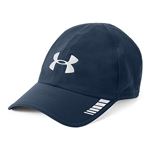 Under Armour Men's Launch ArmourVent Cap, Tourmaline Teal/Black, One Size (Under Cap Running Armour)