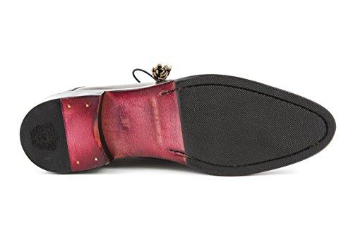 MELVIN & HAMILTON Damen Betty 6 Halbschuhe Slipper Loafer Grau Gr. 37 - 38