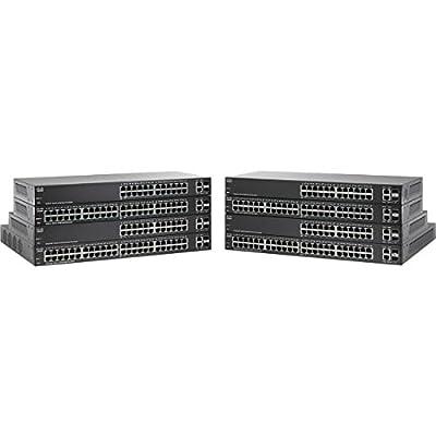 CISCO SYSTEMS 24-Port 10/100 PoE Smart Plus Switch (SF22024PK9NA)