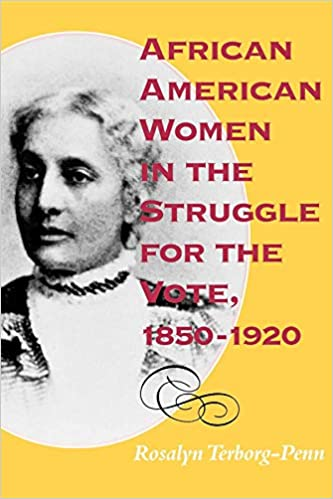 Image result for rosalyn terborg-penn african american women and the struggle to vote