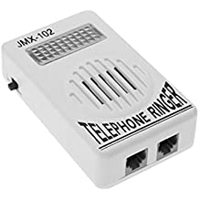 Uxcell RJ11 Socket Loud Telephone Ring Speaker and Ringtone Amplifier for Landline Telephone