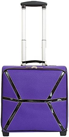 Mellow World Fashion Daffodil Carry-on Rolling Upright Suitcase