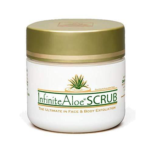 Infinite Aloe Skin Care Scrub, 4 oz. - 1 Jar - InfiniteAloe Face & Body Exfoliator ()