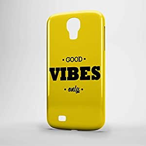 Good vibes Samsung S4 3D wrap around Case - Typography