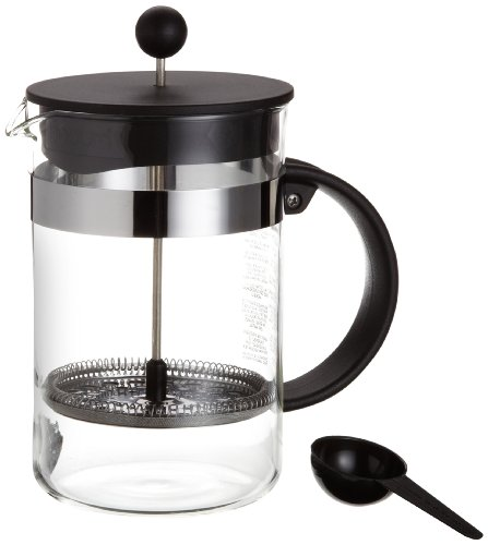 bodum bistro nouveau french press coffee maker 12 cup 51 ounce french presses all for. Black Bedroom Furniture Sets. Home Design Ideas