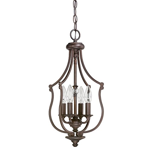 Capital Lighting 4704BB Four Light Foyer - Capital Lighting Four
