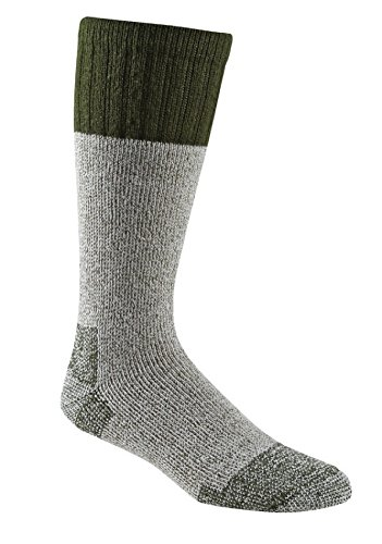 Fox River Outdoor Wick Dry Outlander Heavyweight Thermal Wool Socks, Large, Olive Drab