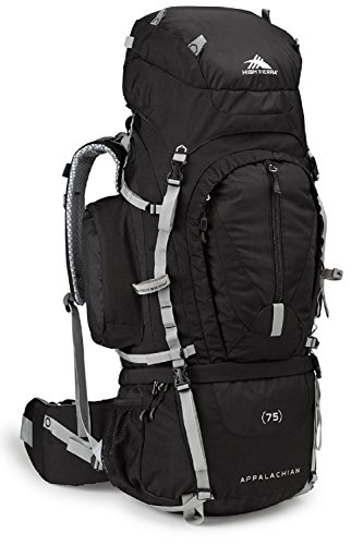 High Sierra Appalachian 75L Top Load Internal Frame Backpack; High-Performance Pack for Backpacking,...