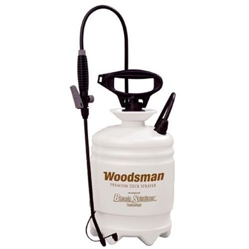 New Hudson Woodsman Pump Up Deck / Garden Sprayer - 2 Gallon (Sprayer Three Point Ag)