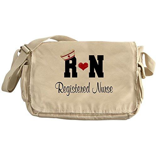 CafePress - Registered Nurse (RN) - Unique Messenger Bag, Canvas Courier Bag by CafePress