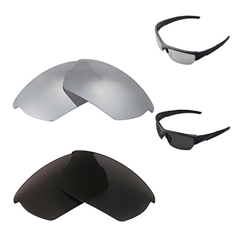 9984911e56 Walleva Polarized Titanium + Black Replacement Lenses For Wiley X Valor  Sunglasses