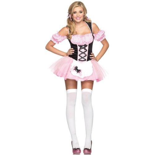 [Gingham Little Miss Muffet Costume - Small/Medium - Dress Size 4-8] (Miss Muffet Costumes)