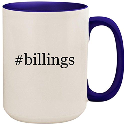 Billings   15Oz Ceramic Colored Inside And Handle Coffee Mug Cup  Deep Purple