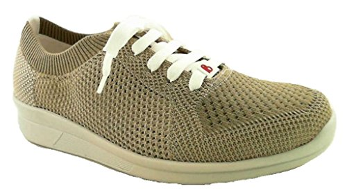 Berkemann Ladies Eila Sneaker Beige (beige / Bianco)