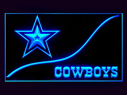 Dallas Cowboys Cool Led Light Sign (Cowboys Led)