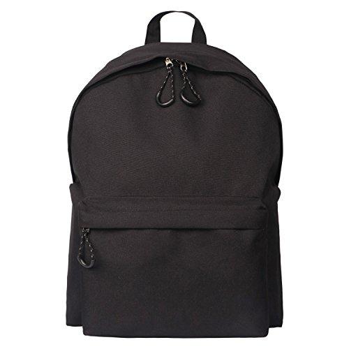Lightweight Backpack For Teens Kids Black Fashion School Bag-TK25-BLACK