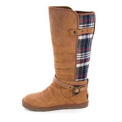 59e7f93d627 ... classic mini plaid uggpure tm boot 19b84 77b2f authentic ugg australia  womens mairelle boot chocolate size 8 50b99 e608c ...